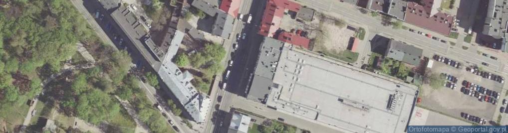 Zdjęcie satelitarne 25 Czerwca ul.