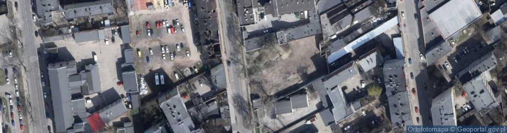 Zdjęcie satelitarne 28 Pułku Strzelców Kaniowskich ul.