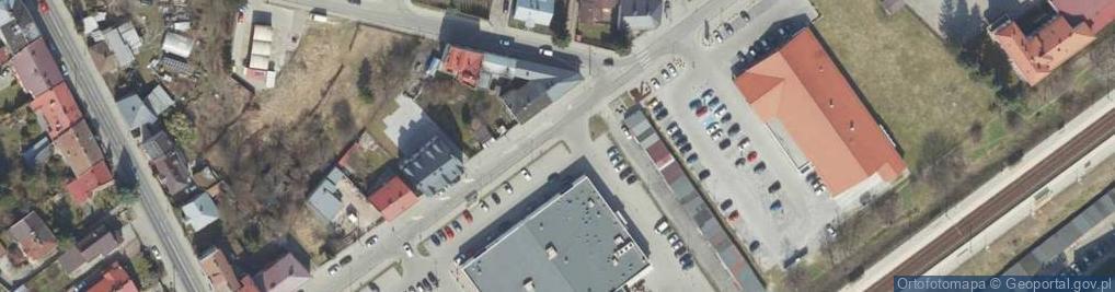 Zdjęcie satelitarne 29 Listopada ul.
