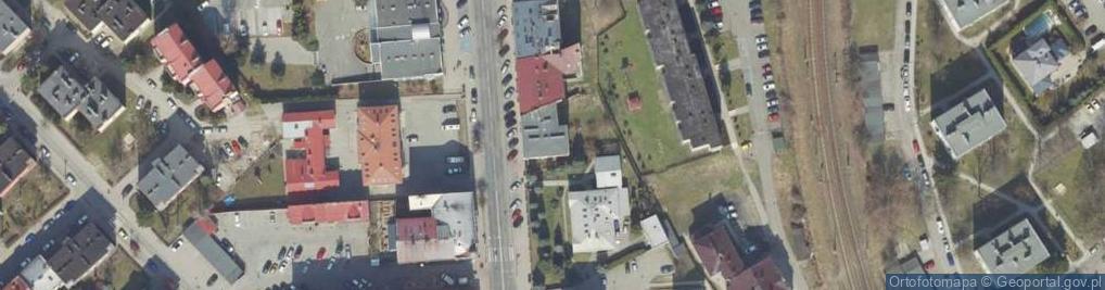 Zdjęcie satelitarne 3 Maja ul.