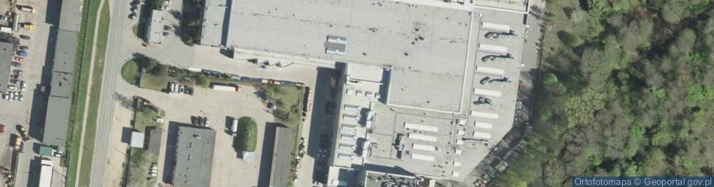 Zdjęcie satelitarne 42 Pułku Piechoty ul.