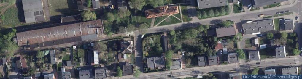 Zdjęcie satelitarne 63 Pułku Piechoty ul.