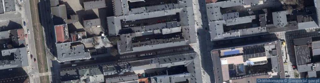 Zdjęcie satelitarne 6 Sierpnia ul.