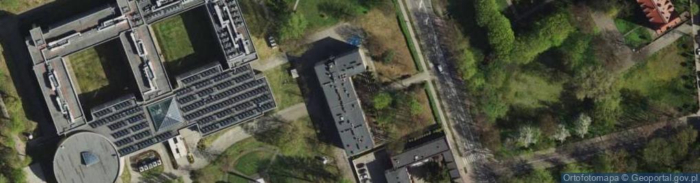 Zdjęcie satelitarne 75 Pułku Piechoty ul.