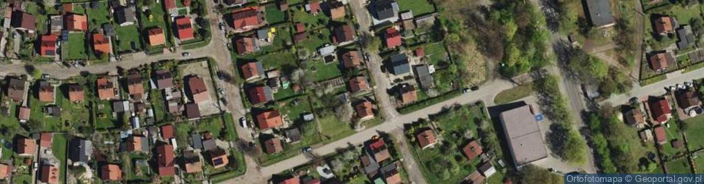 Zdjęcie satelitarne 8 Marca ul.