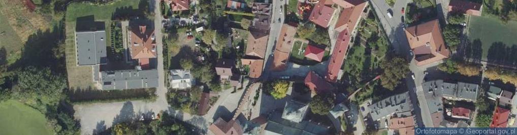 Zdjęcie satelitarne Ablewicza Adama, ks. prałata ul.
