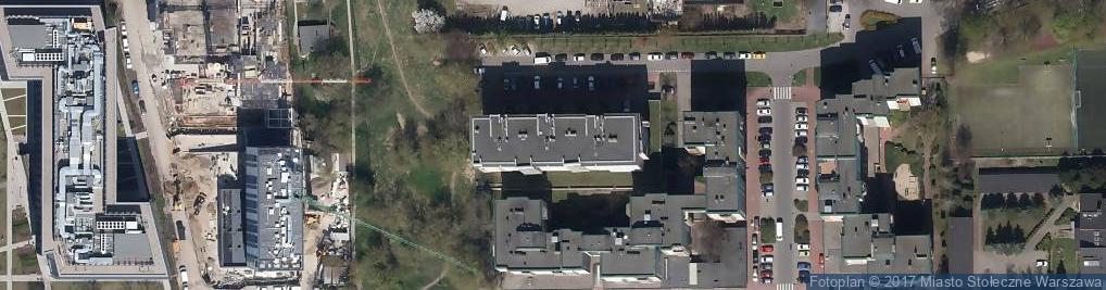 Zdjęcie satelitarne Abramowskiego Edwarda ul.