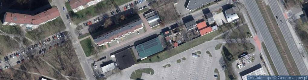 Zdjęcie satelitarne Adwokacka ul.
