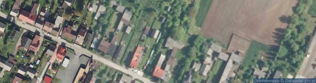 Zdjęcie satelitarne Aksamitna ul.