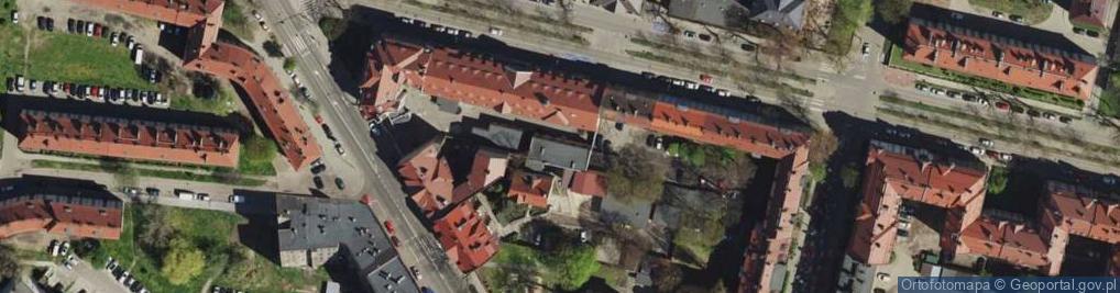 Zdjęcie satelitarne Aleja Legionów al.