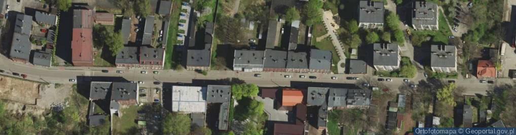 Zdjęcie satelitarne Alojzjanów ul.