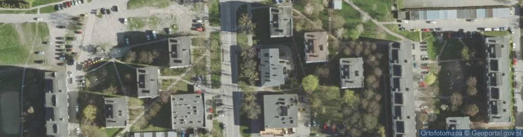 Zdjęcie satelitarne Aleja Piłsudskiego Józefa, marsz. al.