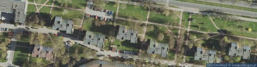 Zdjęcie satelitarne Aleja Żołnierzy 1 Armii Wojska Polskiego al.
