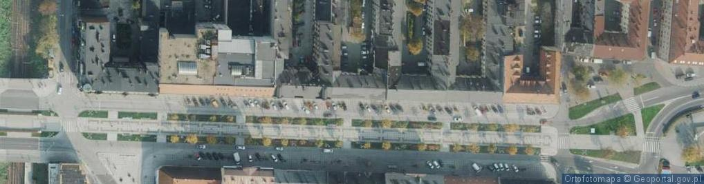 Zdjęcie satelitarne Aleja Najświętszej Maryi Panny al.