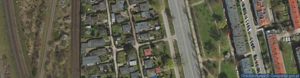 Zdjęcie satelitarne Aleja Zwycięstwa al.