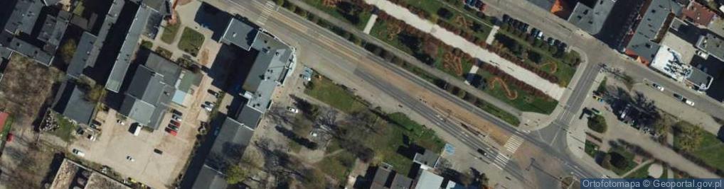 Zdjęcie satelitarne Aleja 23 Stycznia al.