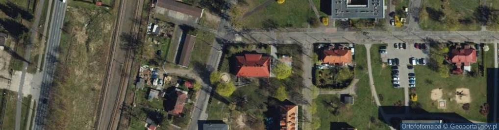 Zdjęcie satelitarne Aleja Sportowców al.