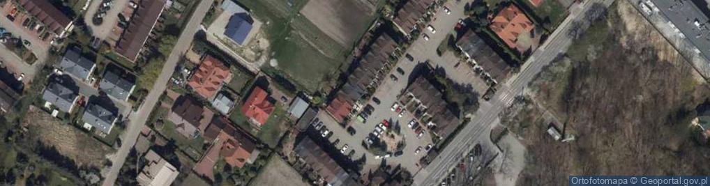 Zdjęcie satelitarne Aleja Bzów al.
