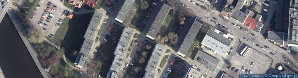 Zdjęcie satelitarne Aleja 1 Armii Wojska Polskiego al.