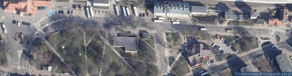 Zdjęcie satelitarne Aleja Kolejowa al.