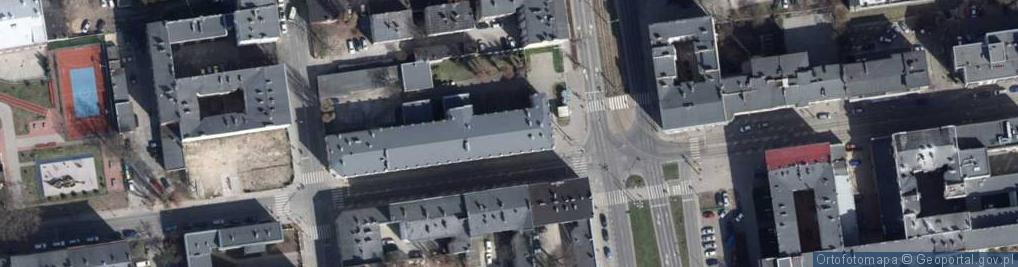 Zdjęcie satelitarne Aleja Kościuszki Tadeusza, gen. al.