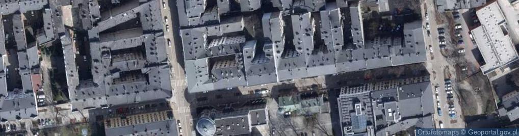 Zdjęcie satelitarne Aleja 1 Maja al.