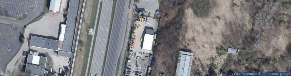 Zdjęcie satelitarne Aleja Włókniarzy al.