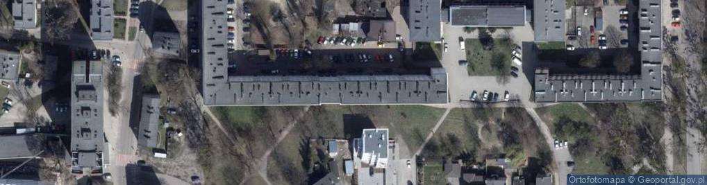 Zdjęcie satelitarne Aleja Pierwszej Dywizji al.