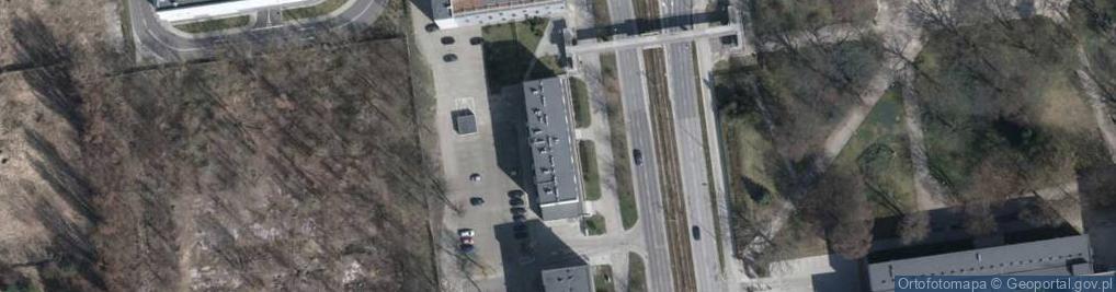 Zdjęcie satelitarne Aleje Politechniki al.