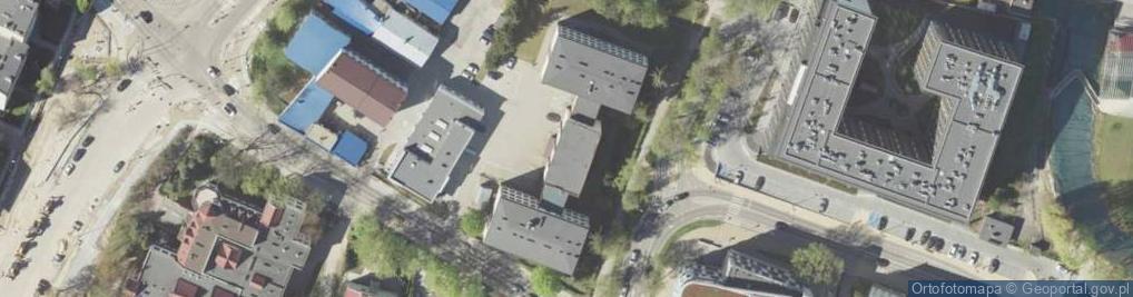 Zdjęcie satelitarne Aleja Długosza Jana al.