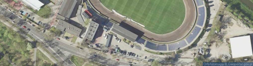 Zdjęcie satelitarne Aleje Zygmuntowskie al.