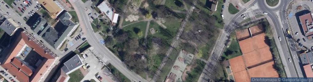 Zdjęcie satelitarne Aleja Lompy Józefa al.