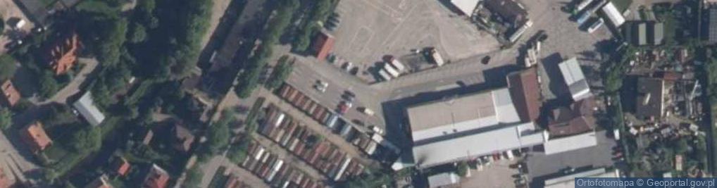 Zdjęcie satelitarne Aleje Lipowe al.