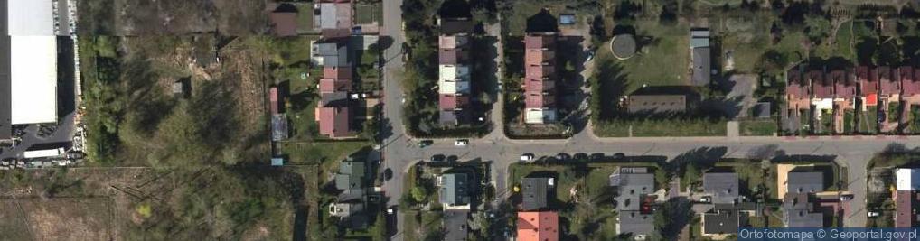 Zdjęcie satelitarne Alabastrowa ul.