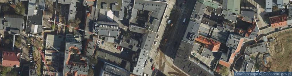 Zdjęcie satelitarne Aleje Marcinkowskiego Karola al.