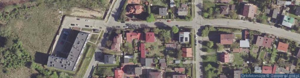 Zdjęcie satelitarne Aleja Róż al.