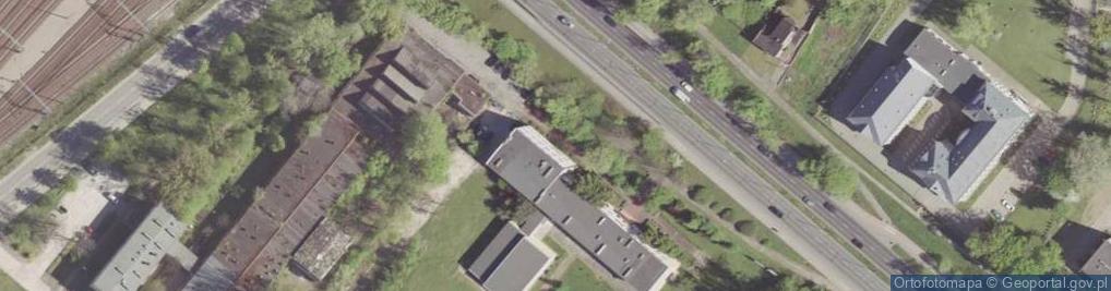 Zdjęcie satelitarne Aleja Grzecznarowskiego Józefa al.