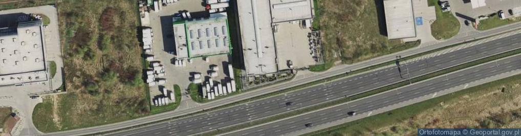 Zdjęcie satelitarne Aleja Powstań Śląskich al.