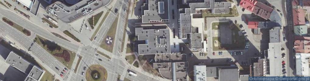 Zdjęcie satelitarne Aleja Cieplińskiego Łukasza al.
