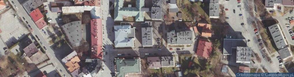 Zdjęcie satelitarne Alsa Roderyka ul.