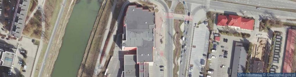 Zdjęcie satelitarne Aleja Rejtana Tadeusza al.