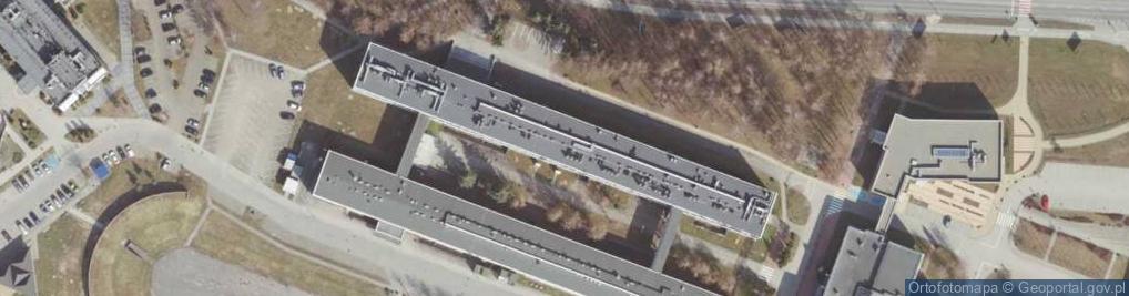 Zdjęcie satelitarne Aleja Powstańców Warszawy al.