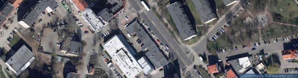 Zdjęcie satelitarne Aleja Młodzieży Polskiej al.