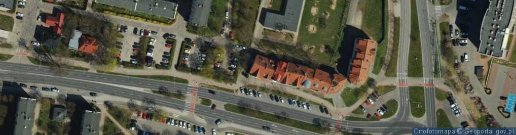 Zdjęcie satelitarne Aleja 3 Maja al.