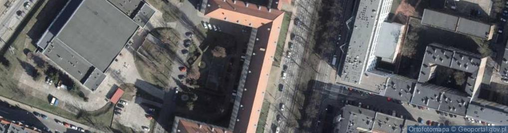 Zdjęcie satelitarne Aleja Piastów al.