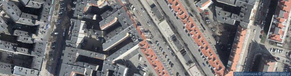 Zdjęcie satelitarne Aleja Papieża Jana Pawła II al.