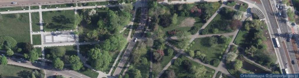 Zdjęcie satelitarne Aleja 500-lecia Torunia al.