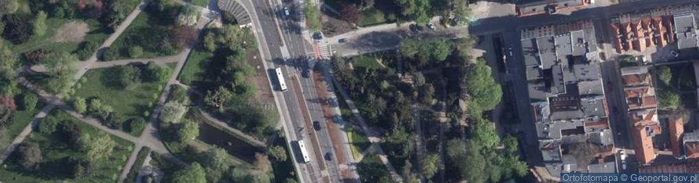 Zdjęcie satelitarne Aleja św. Jana Pawła II al.