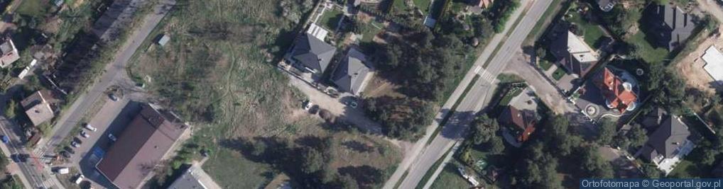 Zdjęcie satelitarne Alladyna ul.