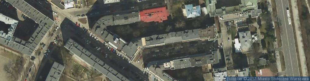 Zdjęcie satelitarne Aleja Przyjaciół al.